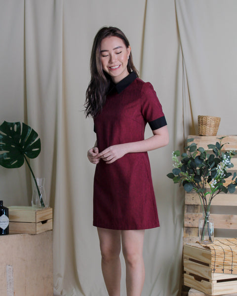 Jolly Dress Maroon (78280)
