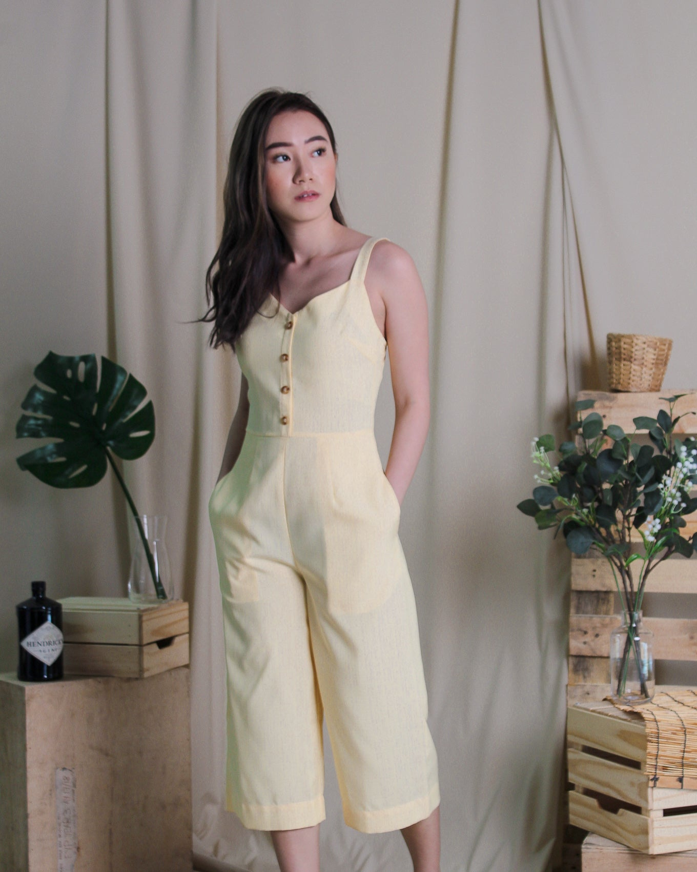 Jolly Jumpsuit Yellow  (78281)