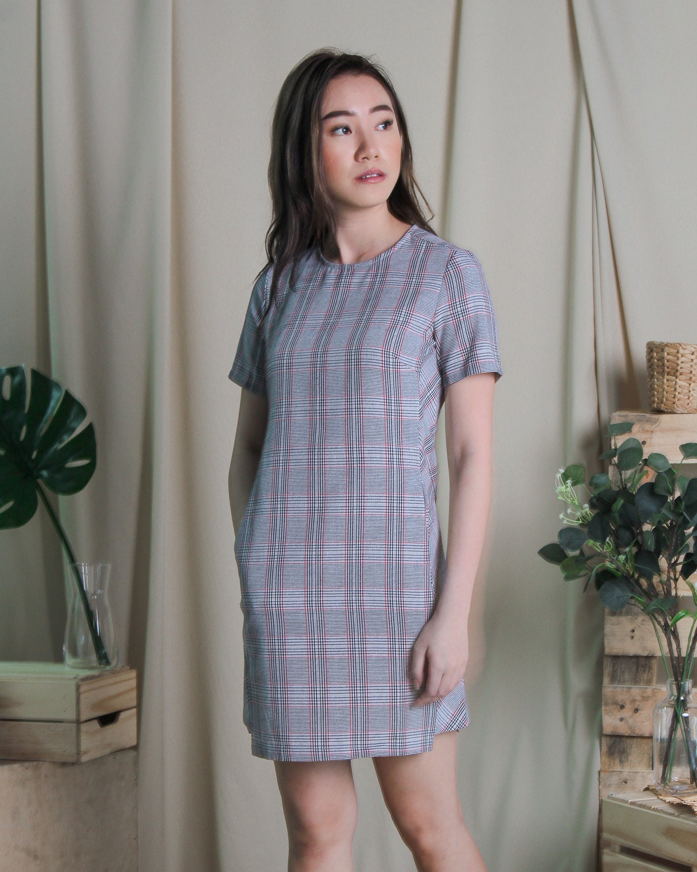 Tant Checks Dress (78228)