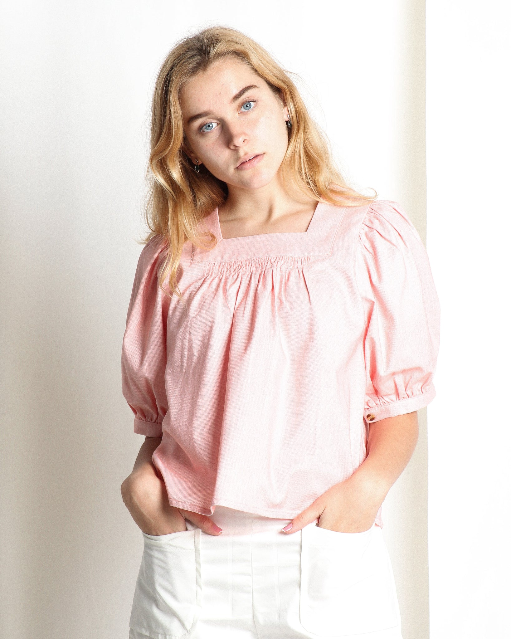 Marissa Blouse Peach (18256)