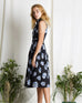Ume Flower Dress Black (78309)