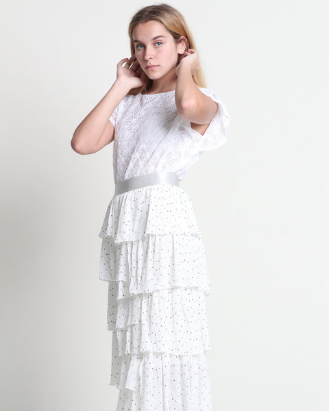 Softie Layer Skirt White (38452)