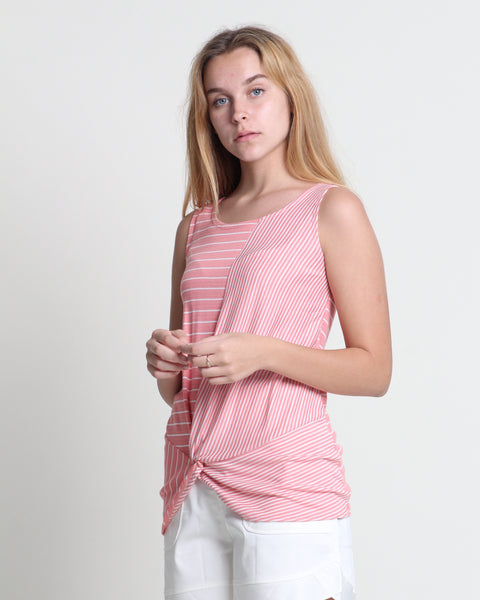 Wen Wen Sleeveless Top Pink (18332)