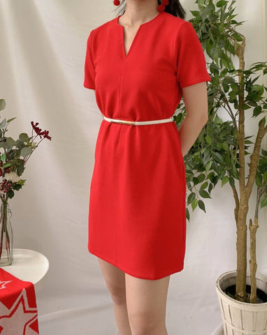 Maddy Dress Red (78246)