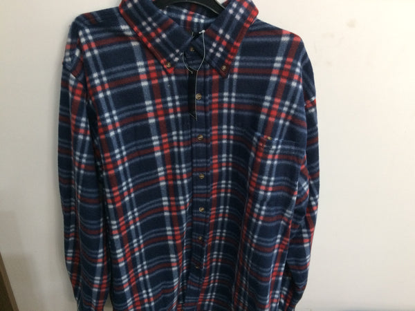Fleece Check Shirts Long Sleeves (1116)