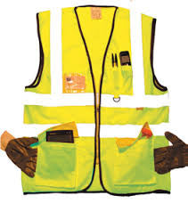 High Vis Vests With Pockets In Yellow And Orange Colours (113/127)