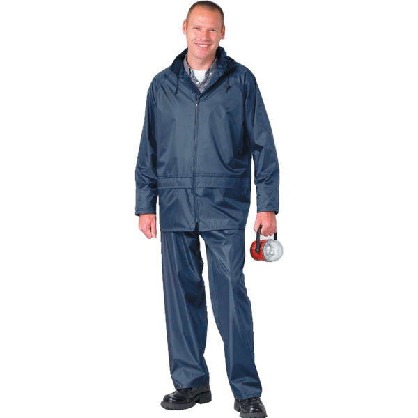 142 Navy Waterproof Suit/Rain Suit