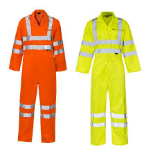 EN20471 Hivis Coveralls (148/Yellow-154/Orange)
