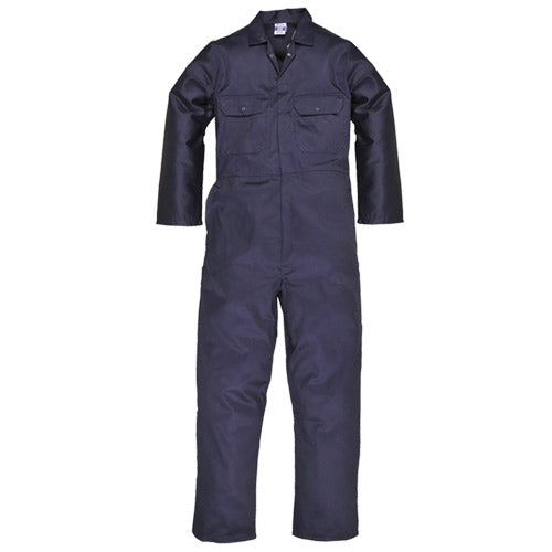 Superior Navy Heavy Weight Zip Front Overalls (23)