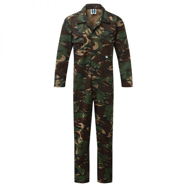 Green Camouflage Coveralls (334)