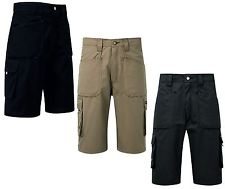 Endurance Work Shorts In Black, Sand, Navy ( 822 )