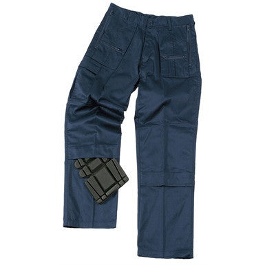 Action Trousers With Zip Pockets Knee Pad Pockets (909)
