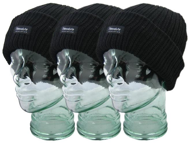b704d32f74f Thinsulate Chunky Knit Wooly Hats - Forum Safety