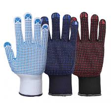 Nylon Polka Dot Gloves (A110)