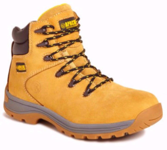 Apache Nubuck Leather Lightweight S3 Safety Boots (AP314/5)