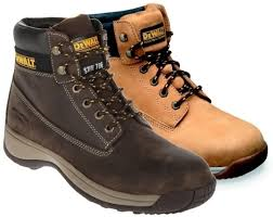Dewalt Apprentice Nubuck Leather Steel Toe Cap Safety Boots SB (Apprentice)