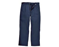Bizweld Navy Flame Retardant Work Trousers (BIZ3)