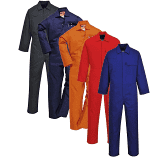Portwest Safewelder Flame Retardent Overalls In Navy, Orange, Red (C030)