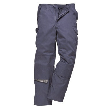 Combat Work Trousers With Back Elasticated Waist (C703)