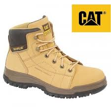 Caterpillar Dimen Honey Nubuck Leather Safety Boot SB (CT013N)