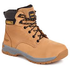 Dewalt Carbon Nubuck Leather Steel Toe Cap Safety Boots SBP (Carbon)