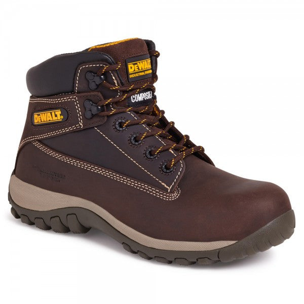 Dewalt Hammer Brown Nubuck Leather Non-Metallic Safety Boot SIP (Hammer)