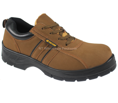 Footgrip Honey Suede Leather Safety Steel Toecap & Midsole Shoes S1P (FG-3009)