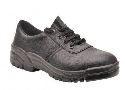 Steelite Lightweight Black Leather Non Safety Shoes (FW19)