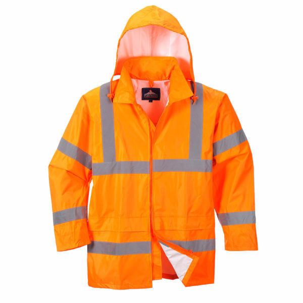 Hi-Vis Waterproof Lightweight Jacket (H440)