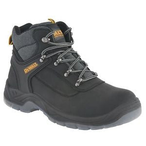 Dewalt Laser Black Leather Steel Toe Cap Safety Boots SBP (Laser)