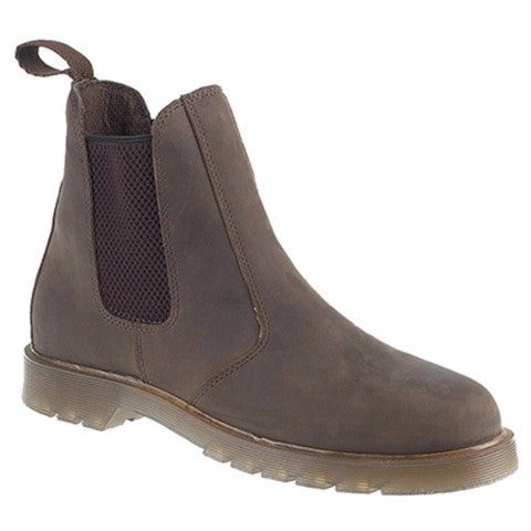 Grafters Leather Air Cushion Sole Dealer Boots (M573A/WB)