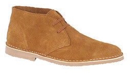 Roamers Sand Suede Leather Desert Boots (M713BS)
