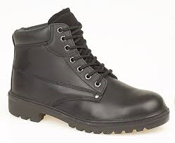Grafters Leather Non Safety Boot Lightweight (M718N/A)