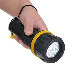 7 LED Rubber Torch (PA60)