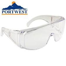 Visitors Safety Specs Eye Protection (PW30)