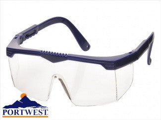 Portwest Classic Safety Eye Screen Spectacles (PW33)