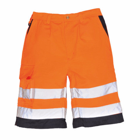 Hi-Vis 8 Pocket Work Shorts (E043)
