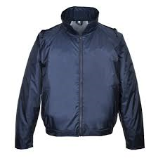 Classic Navy Bomber Lightweight Waterproof Jacket (S442)
