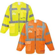 Hi-Vis Executive Multi Pockets Lightweight Jackets  (S475)