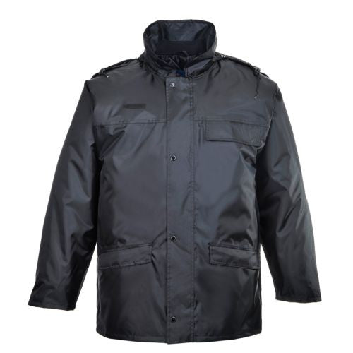 Black Security Padded Jacket (S534)