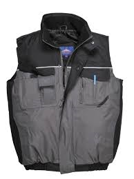 RS Two-Tone Padded Bodywarmers (S560)