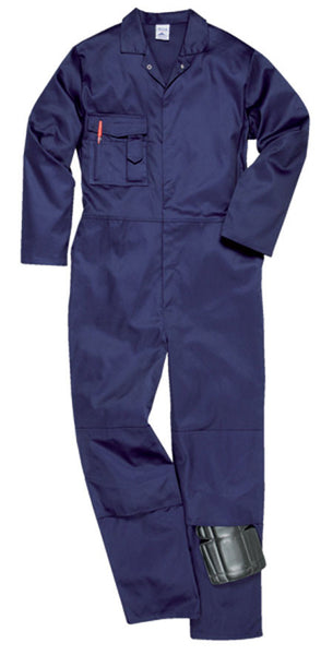 Portwest Navy Sheffield Kneepad Overalls (S997)