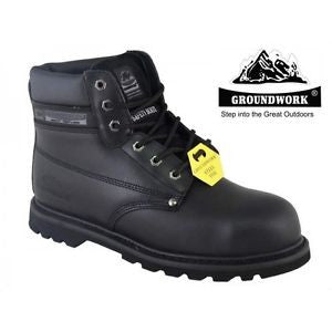 Groundwork Leather Steel Toe Cap Safety