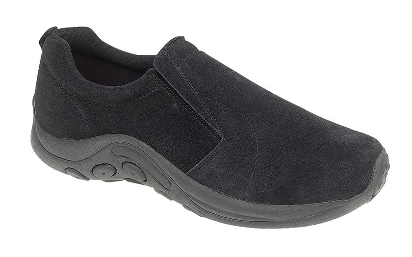 PDQ Ryno Lightweight Suede Leather Casual Slip On Trainer (T586AS/TS/ES)