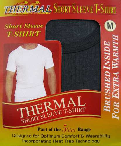 Brushed Thermal Short Sleeve T-Shirts