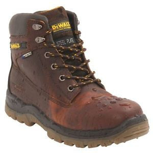 Dewalt Leather Waterproof Steel Toe Cap Safety Boots S3 (Titanium)