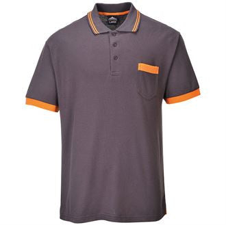 Texo Grey Polo T Shirt (TX20)