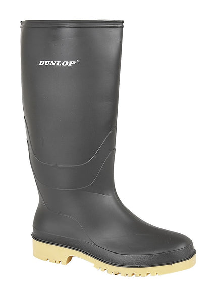 Dunlop Dull Ladies/Youths PVC Waterproof Wellington Boots ( W028A/E)