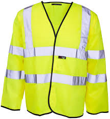 Hi-Vis Two Band & Brace Lightweight Jacket (40/41/43)