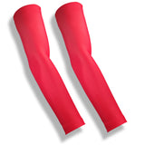 Red UV Protection Golf Sleeves